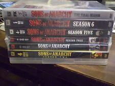 (7) Sons of Anarchy Season DVD Lot: SOA Seasons 1-7  Complete Series  Brand New