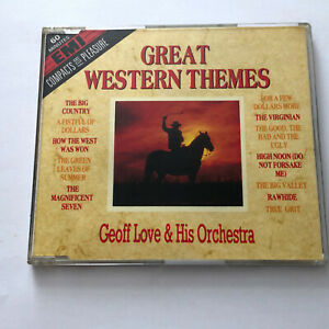 Geoff Love And His Orchestra – Great Western Themes (CD 1988) 24 Tracks Good