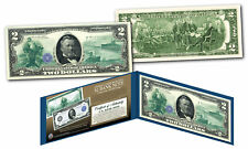 1914 Series $50 Ulysses S. Grant FRN designed on Modern Genuine $2 U.S. Bill