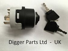 JCB PARTS 3CX -  JCB IGNITION SWITCH WITH 2 KEYS 701/80184