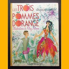 LES TROIS POMMES D'ORANGE Charles Deulin May Néama 1967