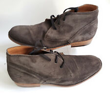 """Mens Authentic John Varvatos """"Seagher"""" Suede Chukka Boots 13"""