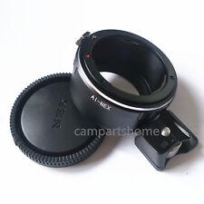 Tripod Nikon F Lens to Sony NEX E Adapter A5000 A6000 A7 A7R NEX 5 nex6 nex7 CAP