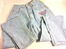 Womens Lee Jeans Misses Double Fly Eased Fit 100% Cotton Super Stone Size 8 Med