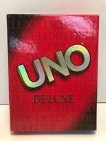 Uno Deluxe Game by Mattel 2001, Complete, Excellent Condition