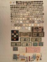 Gold/Silver Collect/Investor US Coin Lot: Rare Dates, Type Coins, 90-CC Morgan $