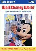 1996 Birnbaum's Official Guide To Walt Disney World - 25 Years Of Magic