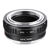 K&F Concept Adapter Mark II for M42 Lens to Sony E NEX A6300 A7R  a7S a7R II