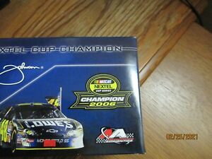 1/24 JIMMIE JOHNSON #48  2006 NEXTEL CUP CHAMPION LIMITED EDITION