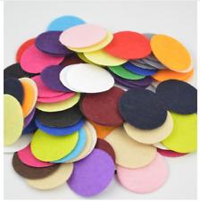 200pcs 2.5cm Eco-friendly Round Felt Fabric Pads Patches Circle Felt Pads Fabric