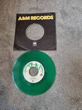 """New listing Police 7"""" GREEN VINYL SINGLE- message In A Bottle AMS 7474"""