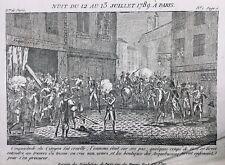 Arquebuse Révolution Française Juillet 1789 Attaque de l'arquebuserie de Paris
