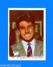 A156 GIRANDOLA DI SUCCESSI -SADA 1958- Figurina-Sticker n. 179 - G. BONATTI