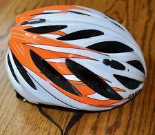 Uvex Boss White and Orange Bike Helmet Xxs- S New!