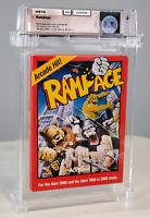 Rampage - Graded Wata 8.5 CIB Atari 2600 1986 USA Activision
