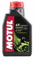 Olio Motore Moto Motul 5000 4T 10W40 Semisintetico HC-TECH API SL - 4 litri lt