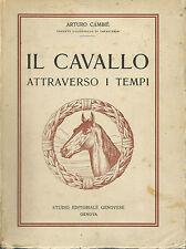 Cambiè - Il Cavallo attraverso i tempi - Studio editoriale Genovese Genova 1928