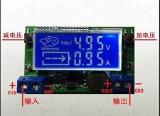 DC-DC LCD Adjustable step-down power supply module Voltage Current Dual display
