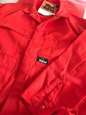 HARD YAKKA OVERALLS 74L RED  POLYCOTTON Great For the Apprentice / kids
