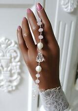 Natürliche Armbänder im Ketten-Stil aus Sterlingsilber mit echten Edelsteinen