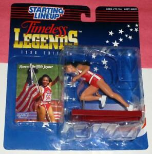 1996 FLORENCE GRIFFITH JOYNER Timeless Legends NM- 1988 Olympics starting lineup