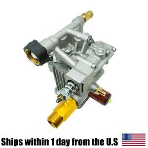 "Pressure Washer Pump For HONDA GC160 Engines 7/8"" Shaft Horizontal 2400-2600 PSI"