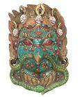 Halloween Decoration Handmade Lord Garuda Hinduism Hanging Wall Art