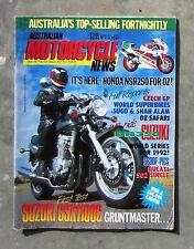 MOTORCYCLE NEWS Sep 1991 - AMCN SUZUKI GSX 1100 DUCATI 502 HONDA NSR 250 GASSIT