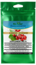 Organic Berberine from Barberry 20:1 Extract 60 Vegetable Capsules
