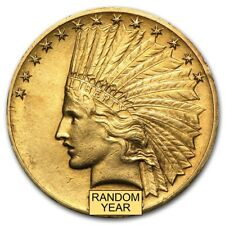 $10 Indian Gold Eagle XF (Random Year) - SKU #166890