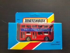 Matchbox, MB17, Bus Londonien, York Festival &mystery Plays. Unopened