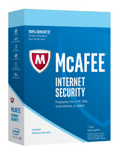 McAfee Internet Security 2016 - Unlimited PC/1 Year (Genuine Retail License Key)