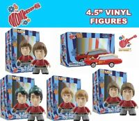"""Titans Vinyl - Exclusive 4,5 """" the Monkees Figures Set - Mickey,Davy,Mike ,Peter"""