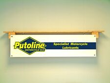 Putoline Oil Banner Motorcycle workshop garage retail advertising sign