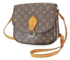 Authentic LOUIS VUITTON Saint Cloud GM Monogram Shoulder Bag #36617