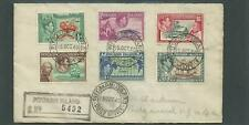 PITCAIRN ISLAND - 1940 REGISTERED COVER TO USA SCARCE ITEM