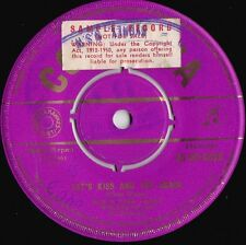 Rick & Thel Carey ORIG OZ Promo 45 Let's kiss and try again EX '59 Country