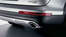 Original Audi Q7 Deporte Tubos de Escape Tubos de Escape Cromo - 4L0071059A