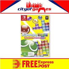 Puyo Puyo Tetris Nintendo Switch New Free Express Post In Stock