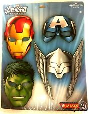 Avengers Marvel Superhero Birthday Party Supplies Favor Paper Masks PACK of 16