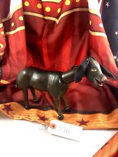 "8"" Antique American Composition Schoenhut Circus Donkey Doll! Adorable! 18173"