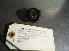 cambiar espejo elétrica Nissan Kubistar 7700803531F 1.5dCi 48kW K9K700 K9K704 76