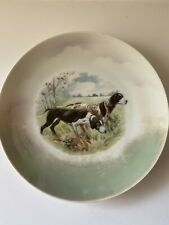 Antique German Shorthaired Pointer Made in Germany Hunting dogs 8� plate