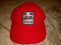 Team Penske 50th Anniversary Of Racing Indy NASCAR Official Hat, Red, Rick Mayer