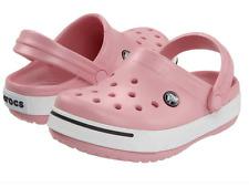 CROCS Classic Unisex Clogs Pink White BUBBLE GUM Men's Size 9 / Women's Sz 11