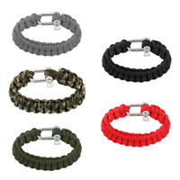 Paracord Bracelet Essential Gear for Outdoor Adventure & Your Emergency Kit
