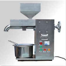 30kg/h Commercial electric hot and cold oil press machine stainless steel m