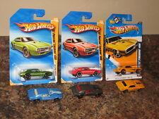 Hot Wheels Lot of 6 1967 Pontiac Firebird 400 Variation 2012 Redline 2010 '67