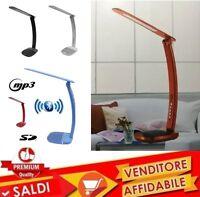 LAMPADA LED CON ALTOPARLANTE RADIO FM USB WS-1521BT