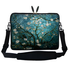 "15.6"" Laptop Computer Sleeve Case Bag w Handle & Shoulder Strap Asus Acer 3005"